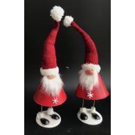 kerstman 2 assortiment design 40 cm