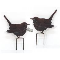 steker vogel hoog 15 cm