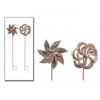 tuinsteker windmolen bloem Venlo metaal 2 assortiment design 21x190