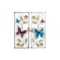 muurdecoratie vlinders 2 assortiment design