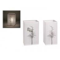 lamp Sapin wit hoog 13 cm