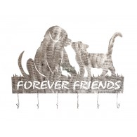 "muurdecoratie wand haken ""forever Friends"""