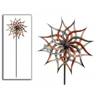 tuinsteker windmolen facella metaal 47x47x165