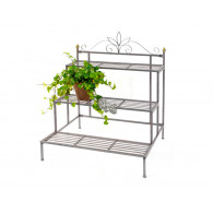 planten trap Argento metaal zilver hoog 85 breed 71 cm op=op