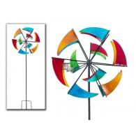 windmolen vlag metaal