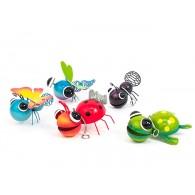 dieren met veer 5 assortiment kleur/design