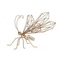 libelle metaal roest hoog 56 cm