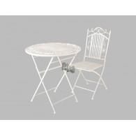 stoel romana crème hoog 96 cm