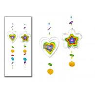 hanger glasschijven lang 79 cm 2 assortiment design sp