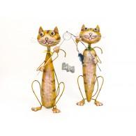 kat met vishengel 2 assortiment design op=op