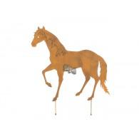 steker paard roest kleur