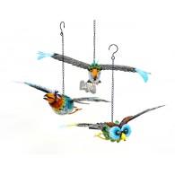 hanger vliegende vogel (25x50cm) 2 assortiment design op=op