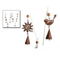 hanger guirlande vogel en ster donker bruin 2 assortiment design op=op