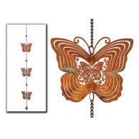 hanger vlinder metaal lang 95 cm