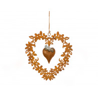 hanger bloemen hart