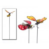 steker lieveheersbeestje en kever bont 2 assortiment design
