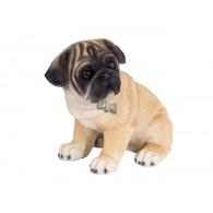 hond mops polystone hoog 14 cm