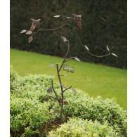 tuinsteker balans 2 uilen op tak
