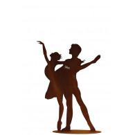 dansers op plaat