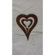 hanger hart 15x21 cm