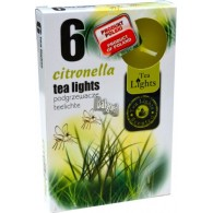 theelicht geur 18x40 box a 6 pc citronella