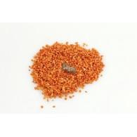 decoratie granulaat zakje 500 gram oranje
