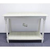 tafel hout 122.5x60.5x90xcm wit