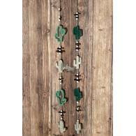 hanger cactus hout 90 cm lang