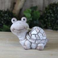 polystone schildpad steenoptiek 13 cm