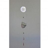hanger zon metaal 112 cm lang zilver kleur