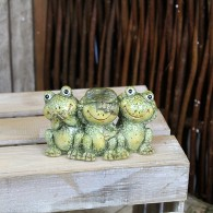 kikkergroep 15 cm keramiek