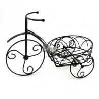 fiets om te beplanten Garda metaal donker bruin breed 35 cm