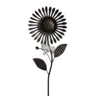 windmolen enkel bloem donker bruin hoog 90 cm