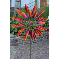 windmolen dubbel bloem bont