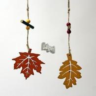 hanger hout blad 2 assortiment design