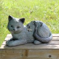 magnesium kat liggend steenoptiek breed 37 cm