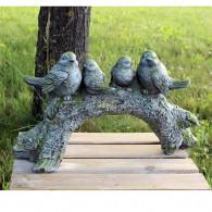 magnesium boomstam 4 vogels hoog 29 cm