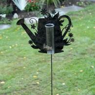 regenmeter gieter metaal hoog 110 cm
