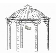 actie dak voor paviljoen Maxima rond 2,80 meter