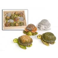 schildpad polystone 4 assortiment kleur 5 cm lang