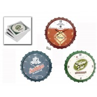 klok hangend cuisine metaal 3 assortiment design/kleur