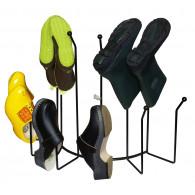 klompen schoenen of laarzen rek