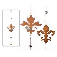 hanger ornament (17 cm) metaal lang 67 cm