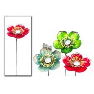 tuinsteker bloem (25cm) 3 assortiment kleur hoog 60 cm