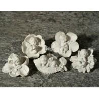 engel op blad polystone hoog 3 cm 5 assortiment design