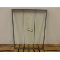 rozenboog/paviljoen prieel zelfbouw systeem staander 40x50x3 blank