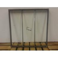 rozenboog/paviljoen prieel zelfbouw systeem staander 40x40x3 blank