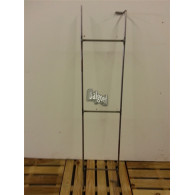 rozenboog/paviljoen prieel zelfbouw systeem tunnel element 92x20x4 cm blank