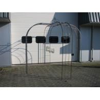 rozenboog/paviljoen prieel zelfbouw systeem voorbeeld paviljoen 4 blank