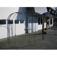 rozenboog/paviljoen prieel zelfbouw systeem voorbeeld paviljoen 6 blank